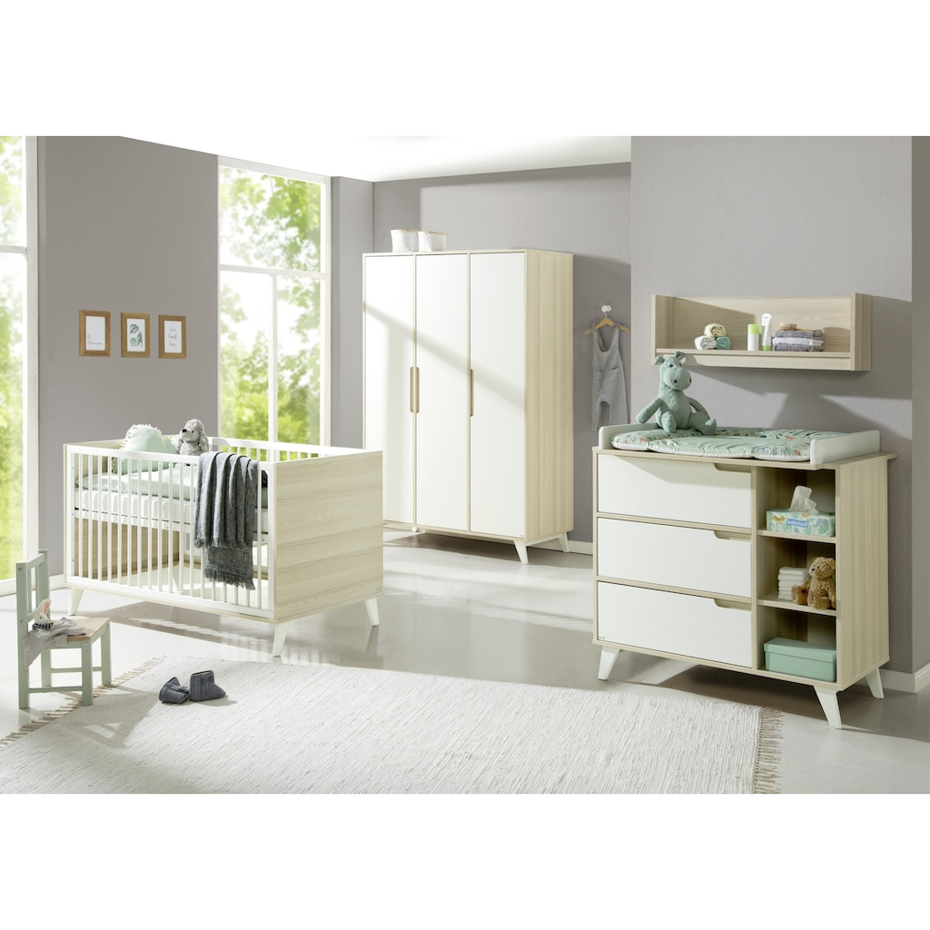Geuther Babyzimmer-Komplettset »Schneewittchen«, (Set, 3 St.), mit Kinderbett, Kleiderschrank und Wickelkommode; Made in Germany