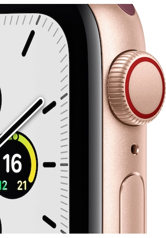 Apple Smartwatch »SE GPS + Cellular, Aluminiumgehäuse mit Sport Loop 40mm«, (Watch OS... kaufen