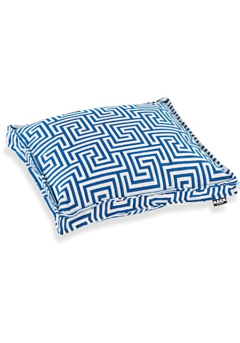 H.O.C.K. Sitzkissen »Gauzy blue No 16«, mit tollem Muster kaufen