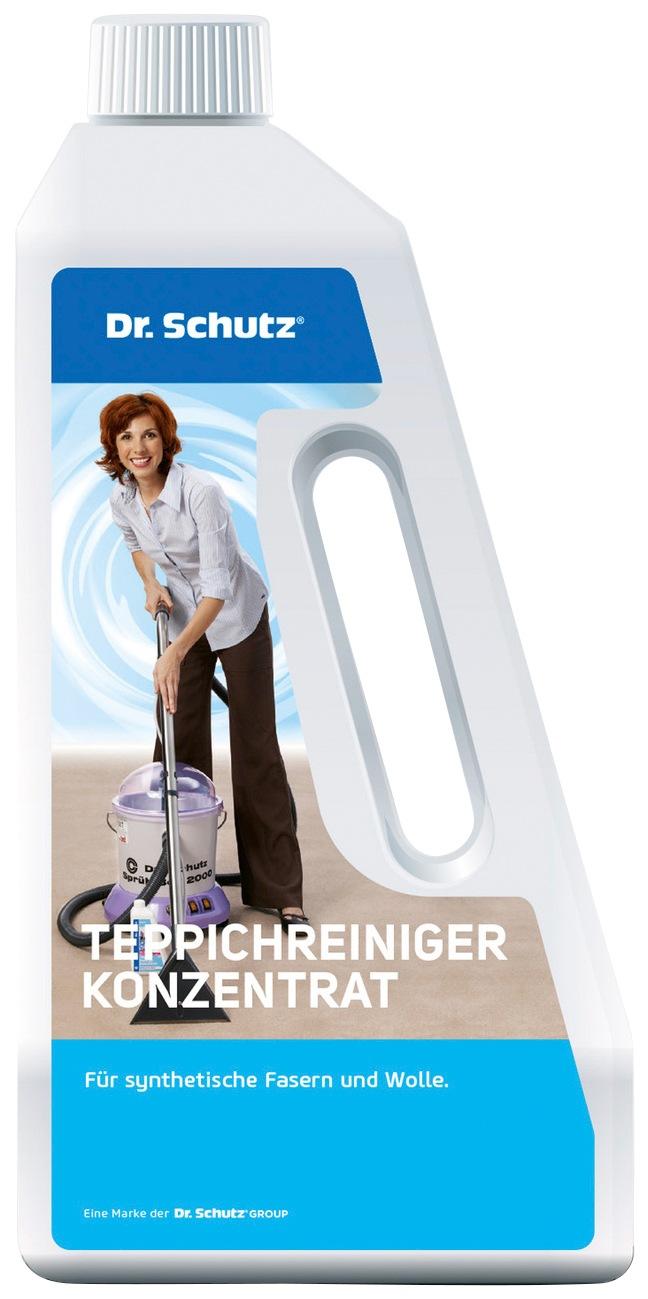 Teppichreiniger »Dr. Schutz Teppichreiniger Konzentrat«, 750 ml   Flur & Diele > Haushaltsgeräte > Dampfreiniger   QUELLE