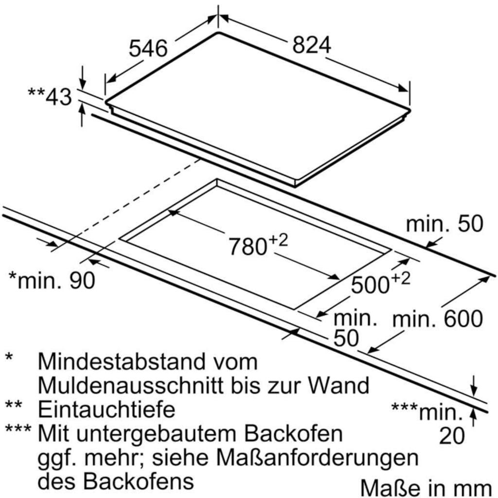 NEFF Elektro-Kochfeld von SCHOTT CERAN® TTT1816N T18TT16N0