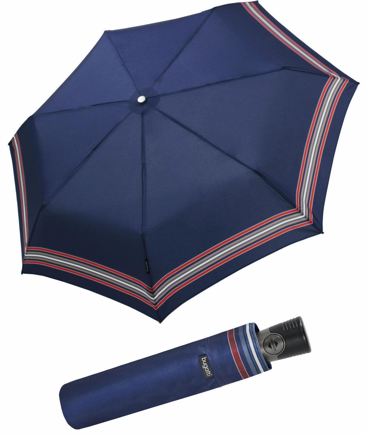 bugatti, Taschenregenschirm Take It Duo | Accessoires > Regenschirme > Sonstige Regenschirme | Blau | Bugatti