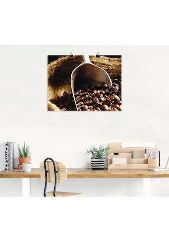 Artland Wandbild »Kaffee«, Getränke, (1 St.), in vielen Größen & Produktarten -... kaufen