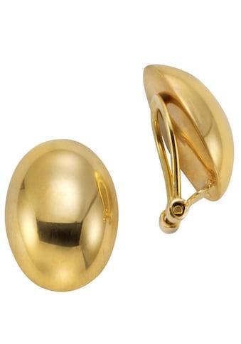 Firetti Paar Ohrclips »ovale Form, glanz« kaufen
