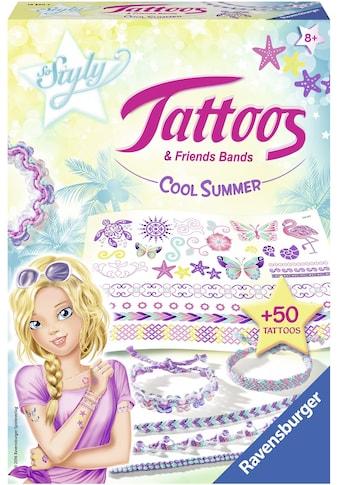 "Ravensburger Kreativset ""So Styly Tattoos & Friends Bands Cool Summer"" (Set) kaufen"
