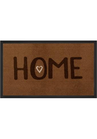 HANSE Home Fußmatte »Lovely Home«, rechteckig, 5 mm Höhe, Schmutzfangmatte, mit... kaufen