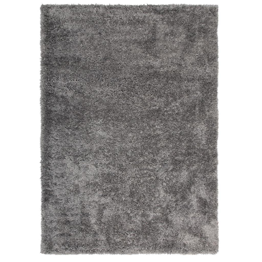 my home Hochflor-Teppich »Boldo«, rechteckig, 50 mm Höhe, besonders weich durch Microfaser