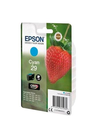 Epson »T2982, 29 Original Cyan C13T29824012« Tintenpatrone kaufen