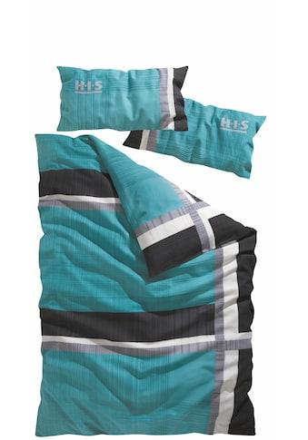 H.I.S Bettwäsche »Linus«, mit feinem Linienmuster kaufen