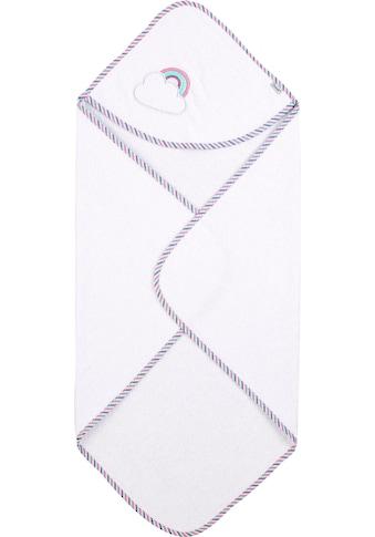 Sterntaler® Kapuzenhandtuch »Pauline«, (1 St.), waschbar kaufen