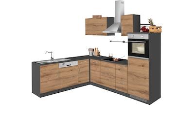 HELD MÖBEL Winkelküche »Colmar«, mit E-Geräten, Stellbreite 210/270 cm kaufen
