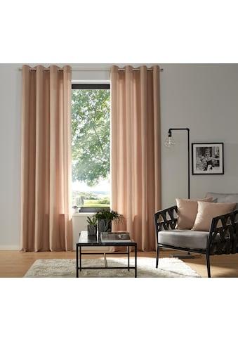 Vorhang, »Luna«, my home, Ösen 2 Stück kaufen