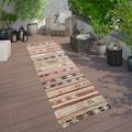 Paco Home Läufer »Artigo 402«, rechteckig, 4 mm Höhe, Kurzflor, In- und Outdoor geeignet