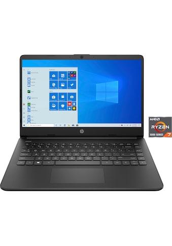 "HP Notebook »14s-fq1072ng«, (35,56 cm/14 "" AMD Ryzen 7 Radeon\r\n 256 GB SSD),... kaufen"