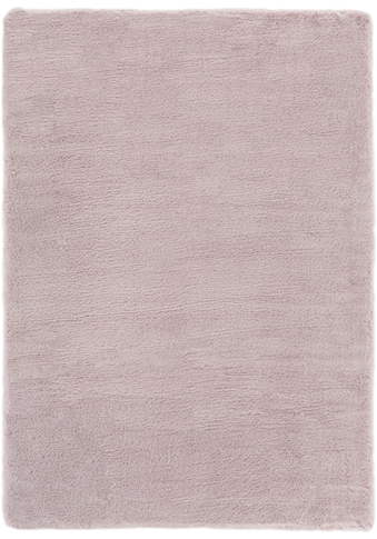 Andiamo Fellteppich »Novara«, rechteckig, 35 mm Höhe, Kunstfell, Kaninchenfell-Haptik, ein echter Kuschelteppich, Wohnzimmer kaufen