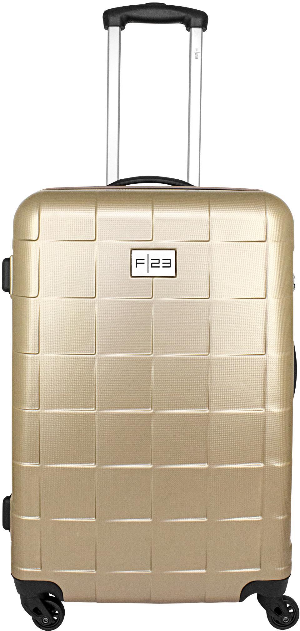F23™ Hartschalen-Trolley Wave 3.0, 68 cm, ricegold, 4 Rollen   Taschen > Koffer & Trolleys > Trolleys   Goldfarben   F23