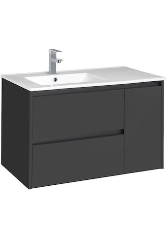 CYGNUS BATH Waschtisch »Jano 850«, Breite 85 cm, Waschmulde links kaufen