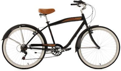 KS Cycling Cruiser »Vintage«, 6 Gang Shimano Tourney Schaltwerk, Kettenschaltung kaufen