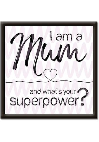 Artland Wandbild »Mama superpower« kaufen