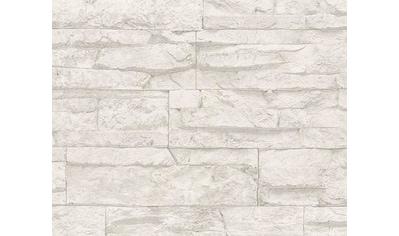 LIVINGWALLS Vinyltapete »Best of Wood'n Stone«, in Natursteinoptik kaufen