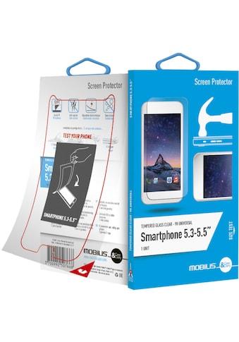 """Mobilis Case Folie »Screen Protec.Glas 9H Univ. Smartphone 5.3 - 5.5""""« kaufen"""