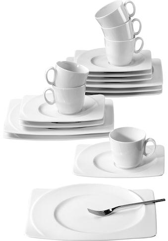Seltmann Weiden Kaffeeservice »PASO«, (Set, 18 tlg.), Spülmaschinengeeignet kaufen