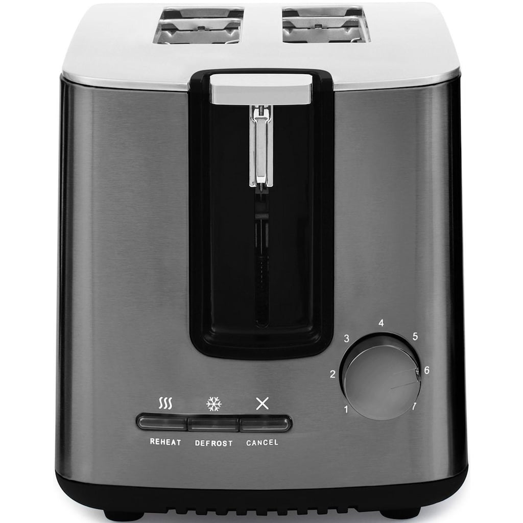 Sharp Toaster »SA-CT2002A«, 2 kurze Schlitze, für 2 Scheiben, 850 W
