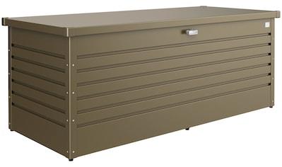 Biohort Aufbewahrungsbox »Freizeitbox 180«, B/T/H: 181/79/71 cm, bronzefarben metallic kaufen