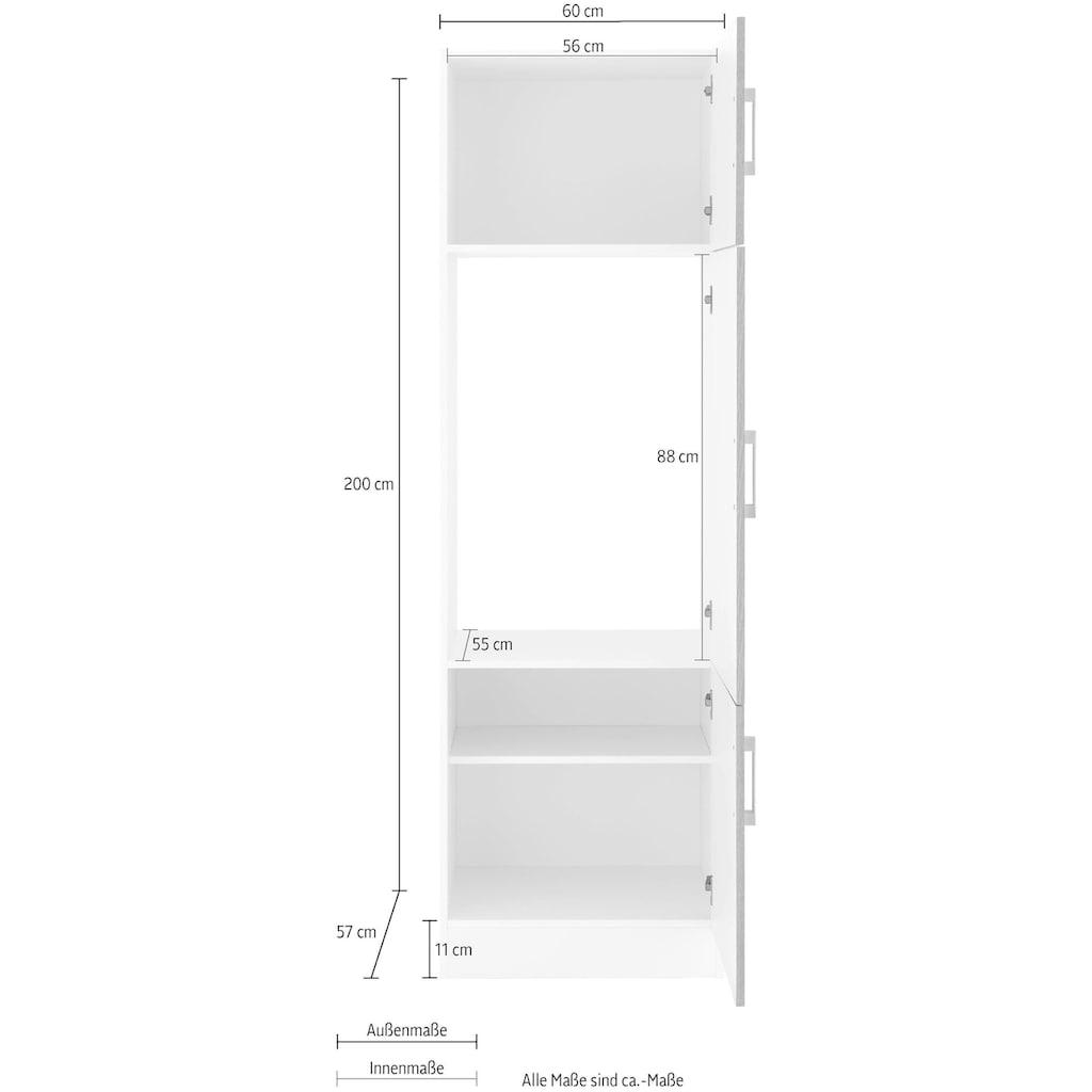 HELD MÖBEL Kühlumbauschrank »Gera«, Breite 60 cm