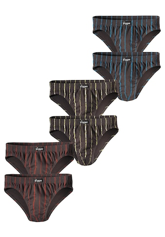 le jogger® Slip, (6 St.), aus Baumwoll-Stretchqualität kaufen