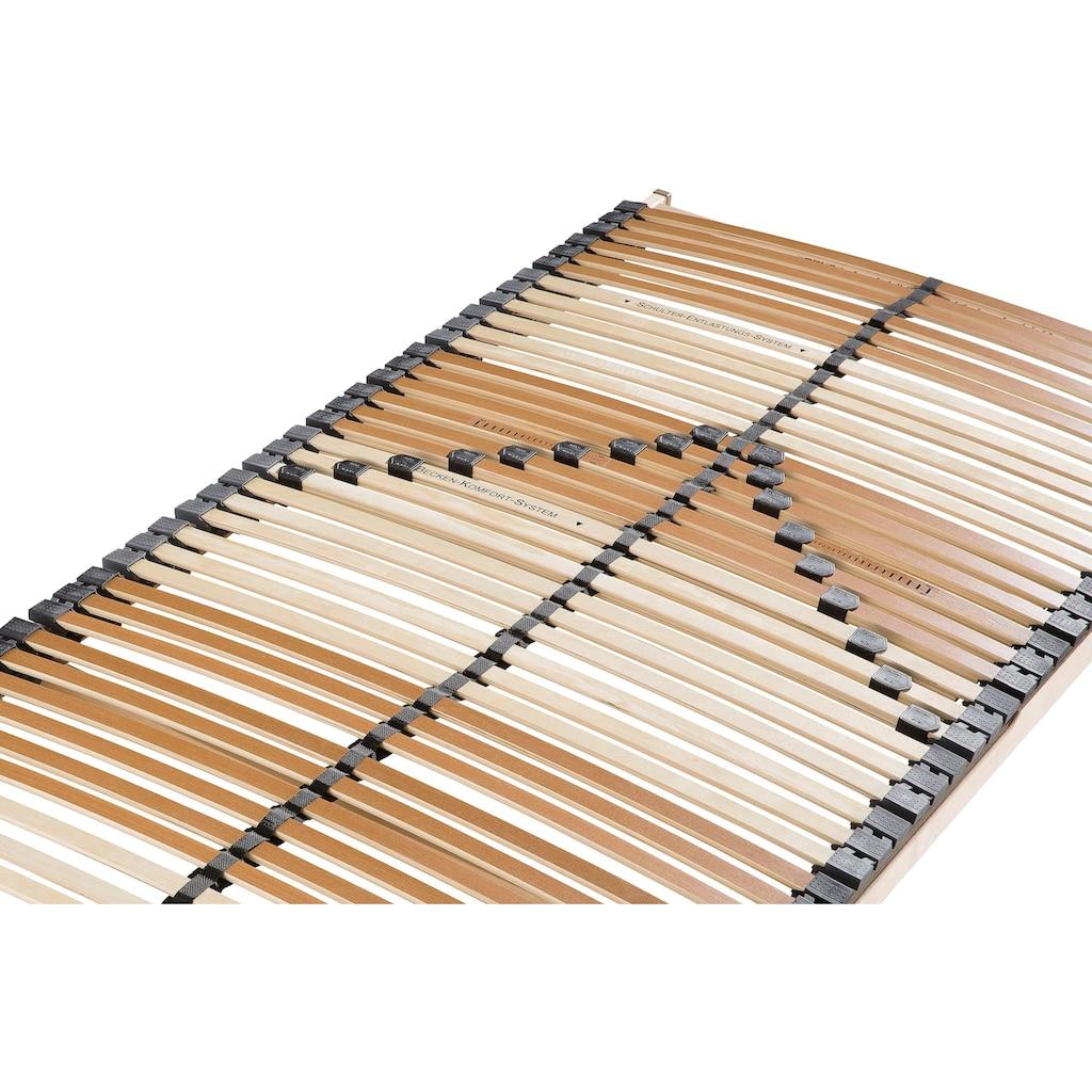 BeCo EXCLUSIV Lattenrost »Comfort-Lux«, (1 St.), Spezielle Schulter-Entlastungs- und Becken-Komfort-System