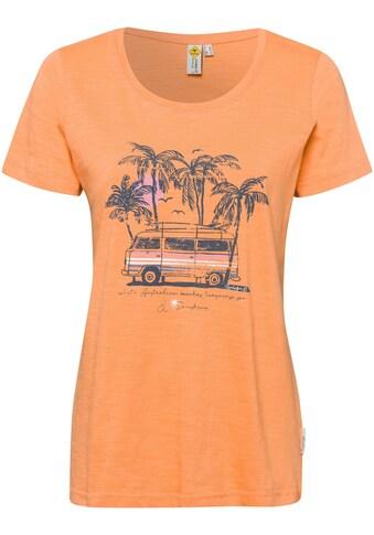 ROADSIGN australia Print-Shirt, mit Caravan- und Palmendruck kaufen