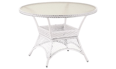 BEST Gartentisch »Madelene«, Aluminium/Glas, Ø 110 cm kaufen