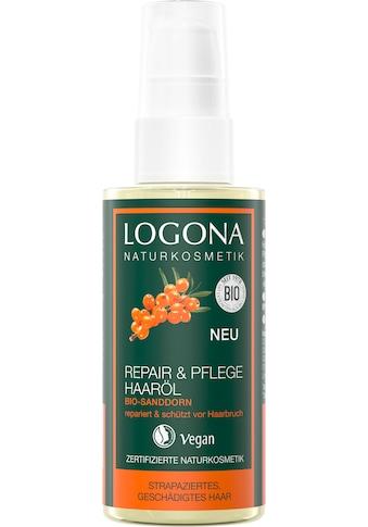 LOGONA Haaröl »Logona Repair&Pflege Haaröl Bio-Sanddorn« kaufen