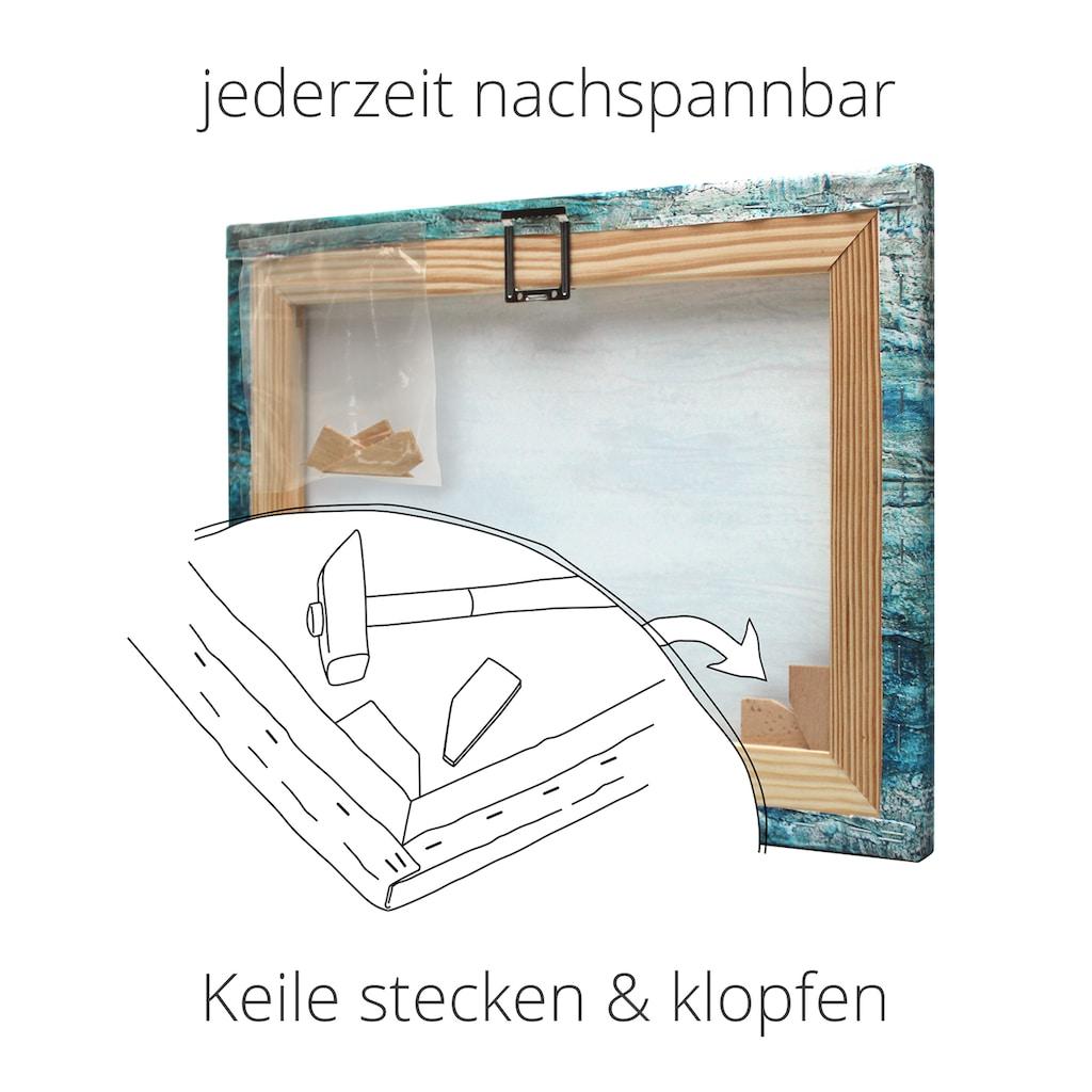 Artland Wandbild »Heutiger Kaffee III«, Getränke, (1 St.), in vielen Größen & Produktarten -Leinwandbild, Poster, Wandaufkleber / Wandtattoo auch für Badezimmer geeignet