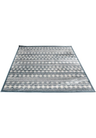 Living Line Teppich »Clara Boho«, rechteckig, 4 mm Höhe, Vintage Design, Seiden-Optik,... kaufen