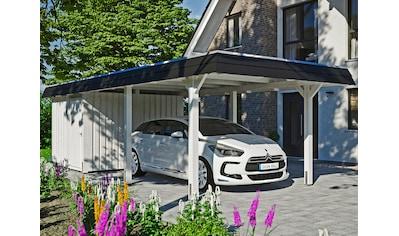 Skanholz Einzelcarport »Wendland«, Leimholz-Nordisches Fichtenholz, 291 cm, weiß kaufen