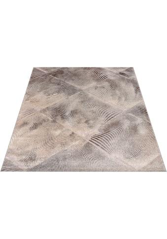 Home affaire Teppich »Falco«, rechteckig, 12 mm Höhe, mit Glanzgarn, Wohnzimmer kaufen