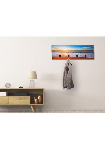 Artland Garderobenpaneel »Sonnenuntergang und das Meer« kaufen
