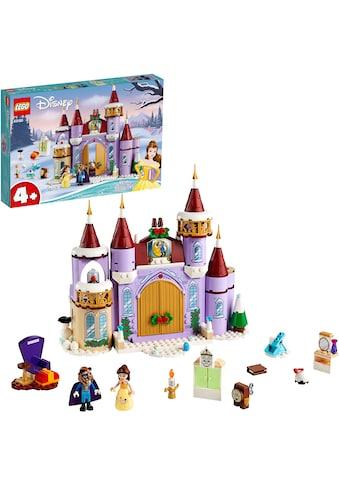 LEGO® Konstruktionsspielsteine »Belles winterliches Schloss (43180), LEGO® Disney Princess™«, (238 St.) kaufen