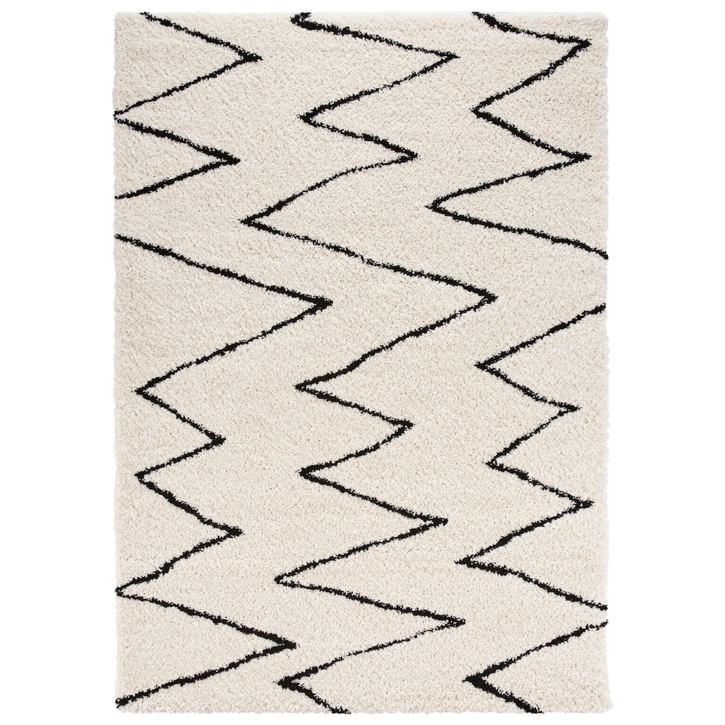 MINT RUGS Hochflor-Teppich »Jara«, rechteckig, 35 mm Höhe, besonders weich durch Microfaser