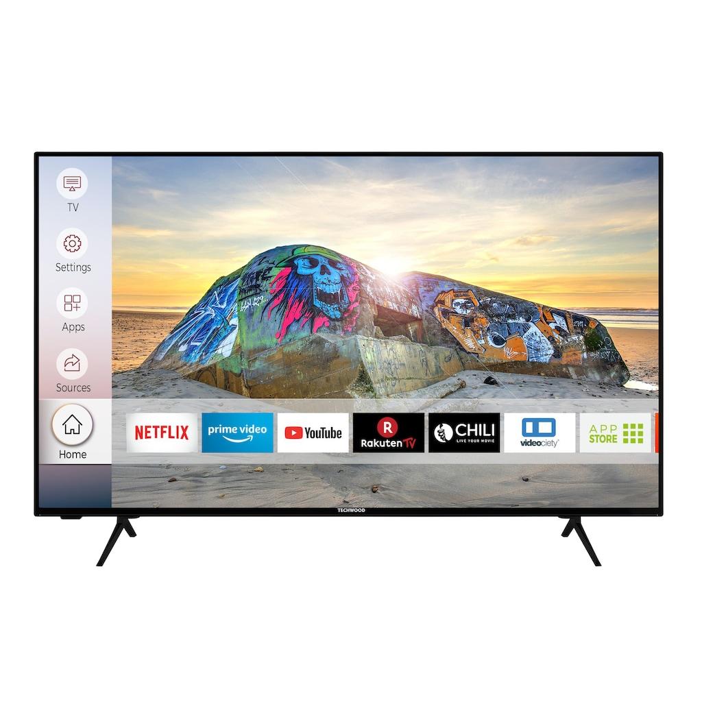 """Techwood LED-Fernseher »U43T52E«, 108 cm/43 """", 4K Ultra HD, Smart-TV"""