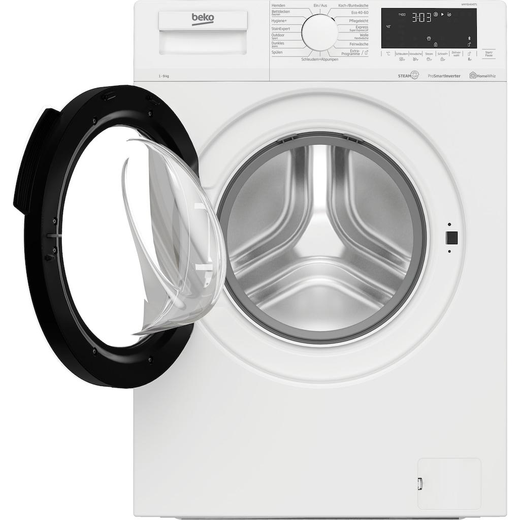 BEKO Waschmaschine »WMY91464ST1«, WMY91464ST1, 9 kg, 1400 U/min