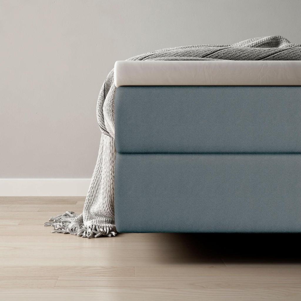 Schlaraffia Boxspringbett »Fidelio«, inkl. GELTEX®-Topper, Fuß in Schwebeoptik
