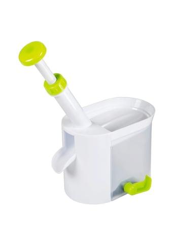 Xavax Entkerner für Kirschen und Oliven, Kunststoff, Weiß/Grün »Küchenhelfer« kaufen