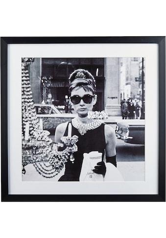 G&C Bild »Celebrities: Audrey Hepburn Motiv 1«, 40/40 cm, gerahmt kaufen