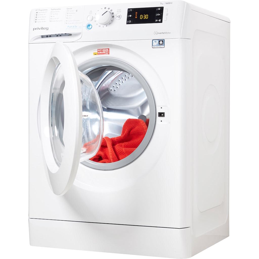 Privileg Waschmaschine »PWF X 763 N«, PWF X 763 N