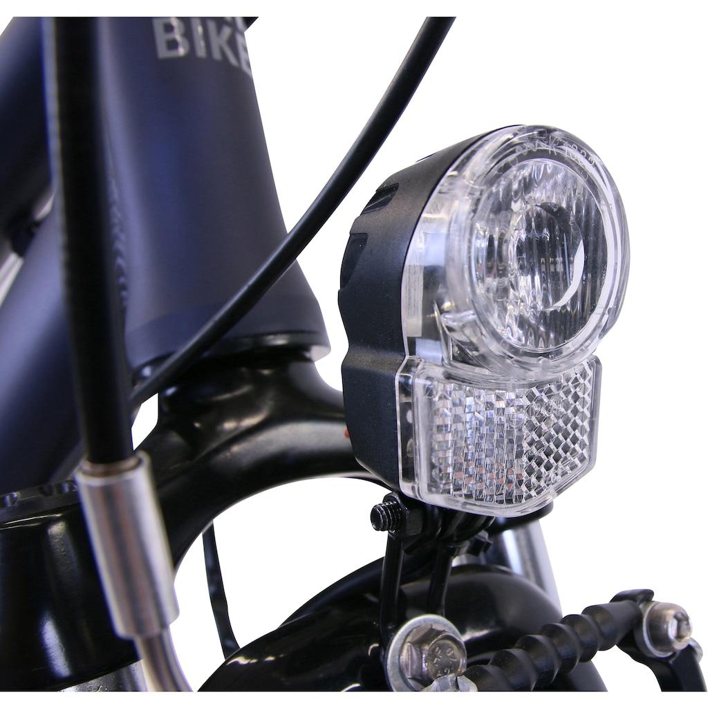 HAWK Bikes Trekkingrad »HAWK Citytrek Lady Deluxe Plus Ocean Blue«, 7 Gang, Shimano, Nexus Schaltwerk