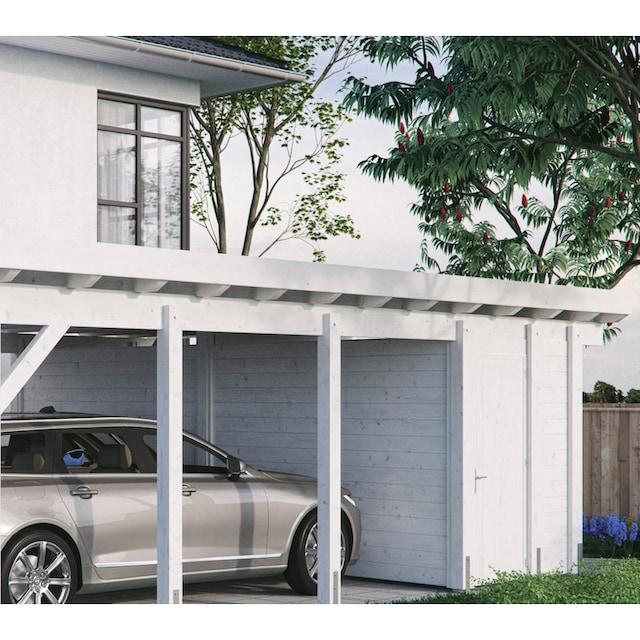 Kiehn-Holz Geräteraum BxT: 585x174 cm, nur für Carport KH 330/311, versch.Farben