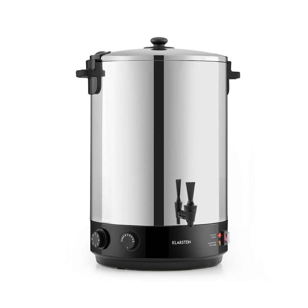 Klarstein KonfiStar 40 Einkochautomat Getränkespender 40L 110°C »Food preser 40L«